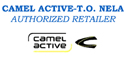 CAMEL ACTIVE-T.O. NELA- AUTHORIZED RETAILER logo